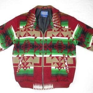VTG Pendleton Bomber Coat High Grade Wool …